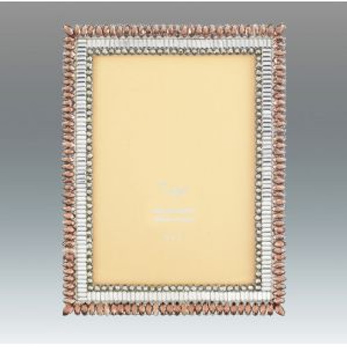 Tizo Coloured Leaves 5 x 7 Inch Jeweltone Picture Frame