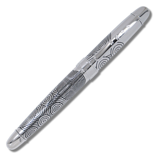 Acme Circles Etched Roller Ball Pen