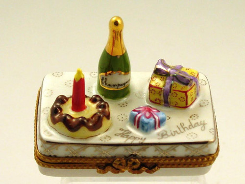 Chamart Birthday Celebration Limoges Box 2005/010