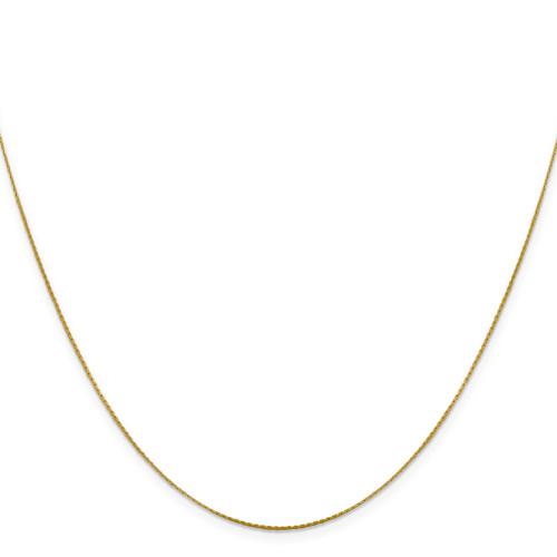 .6 mm Boston Link Chain 18 Inch 14k Gold 7191-18