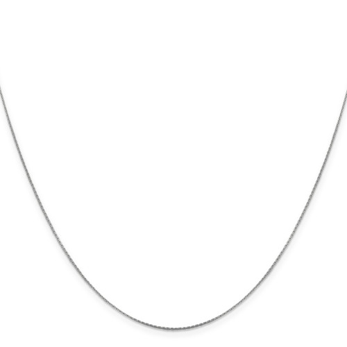 .6 mm Boston Link Chain 16 Inch 14K White Gold 7192-16