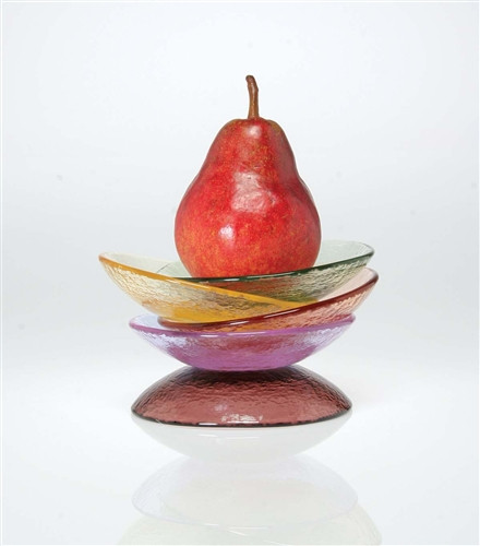 Fire and Light Dipping Dish 4 3/4 Inch