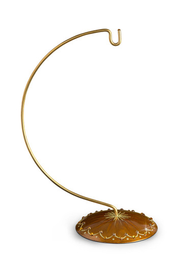 Jay Strongwater Ornament Stand Topaz SDF3637-248