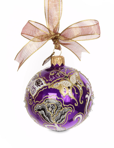 Jay Strongwater Butterfly NouveauArtisan 3 Inch Ornament Bouquet SDH2264-289