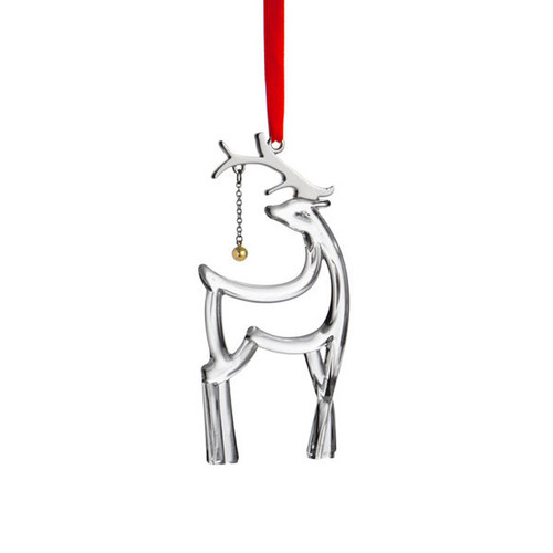 Nambe Glass Reindeer Ornament, MPN: MT1060, UPC: 672275310605