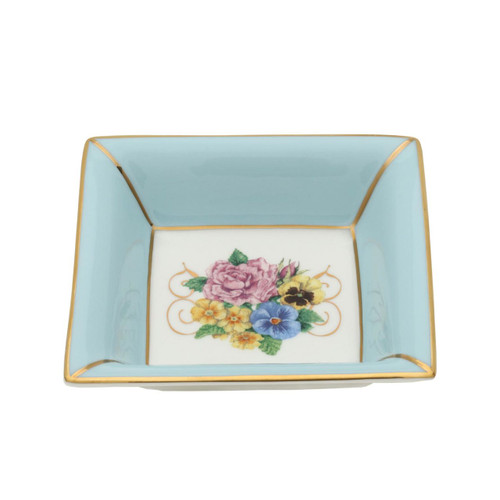 Halcyon Days Shell Garden Square Tray, MPN: BCCSG12STG, EAN: 5060171159728