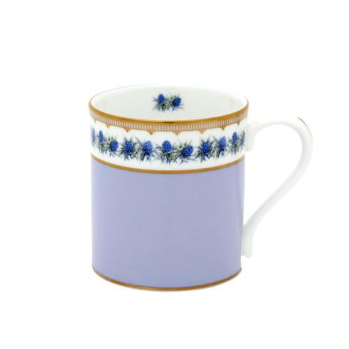 Halcyon Days Shell Garden Floral Thistle Lilac Mug BCCTH27MGG