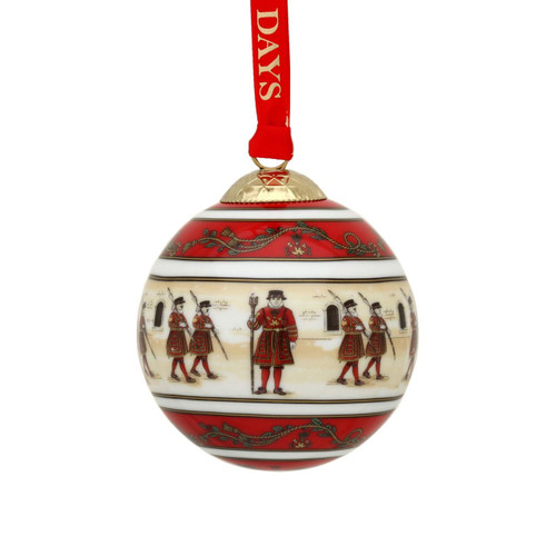 Halcyon Days The Tower of London Bauble Ornament BCHTL06XBN