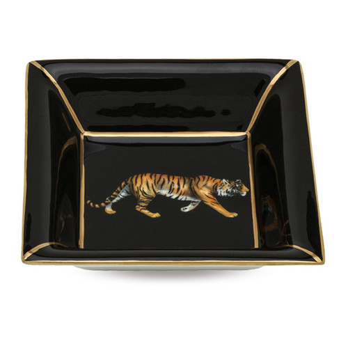 Halcyon Days Tiger Square Tray BCMWT02STG