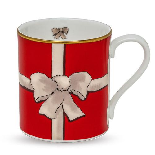 Halcyon Days Ribbon Red Mug BCRIB06MGG