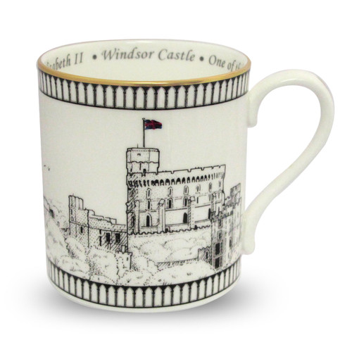 Halcyon Days Windsor Castle Mug BCWIN03MGG