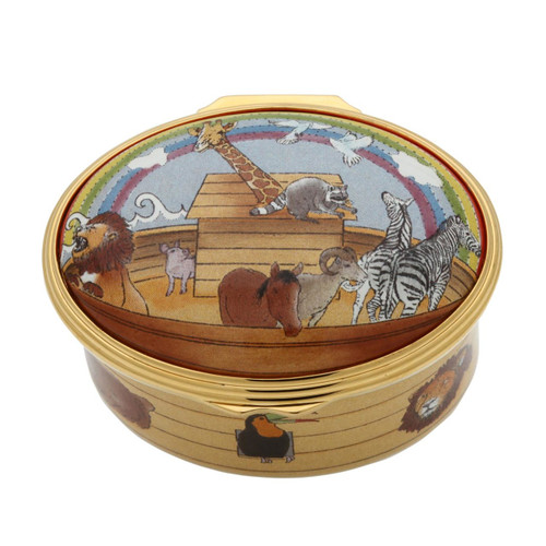 Halcyon Days Noah's Ark Musical Enamel Box, MPN: ENNOA0133MG, EAN: 5060171161974