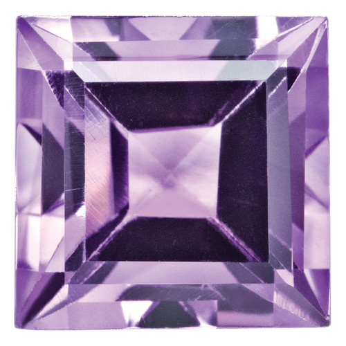 Amethyst 3mm Square Step Cut Gemstone AM-0300-SQS-AA