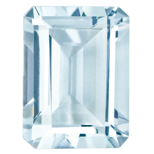 Aquamarine 5X3mm Emerald Cut Gemstone AQ-0503-OCE-A