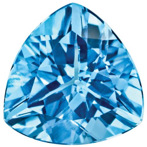 Blue Topaz 4mm Trillion Gemstone BT-0400-TRF-AA