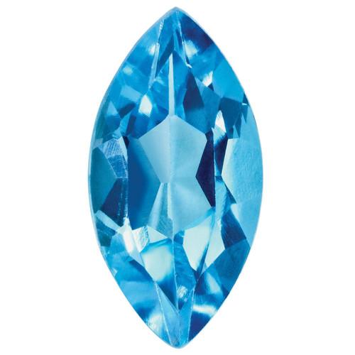 Blue Topaz 4X2mm Marquise Gemstone BT-0402-MQF-AA