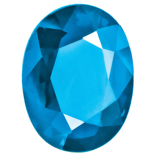 Blue Topaz 4X3mm Oval Gemstone BT-0403-OVF-AA
