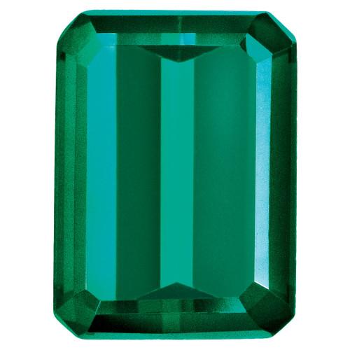 Created Emerald 5X3mm Emerald Cut Gemstone CE-0503-OCE