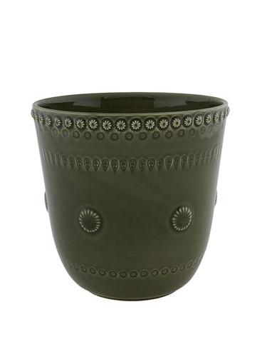 Bordallo Pinheiro Fantasy Vase Olive Green 65021279