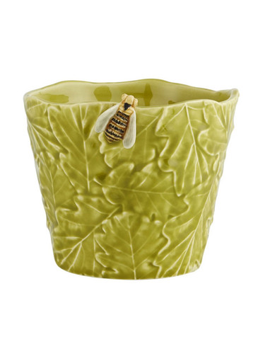 Bordallo Pinheiro Garden of Insects Vase with bee Decorated 65019405
