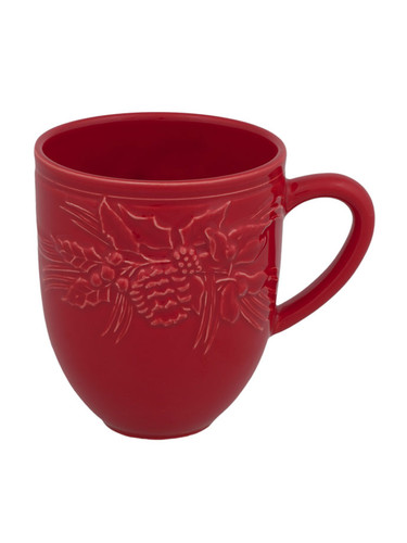 Bordallo Pinheiro Winter Red Mug MPN: 65016599 EAN: 5600876072894
