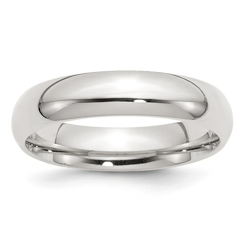 5mm Comfort Fit Band - Sterling Silver QCF050