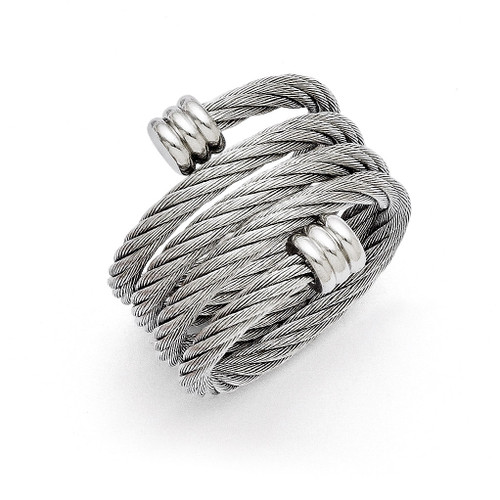 Adjustable Wrap Ring - Stainless Steel SR166