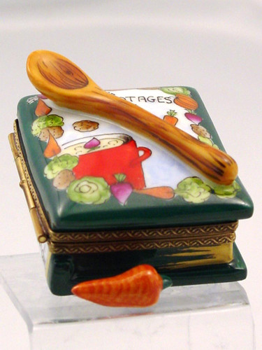 Chamart Book Spoon Potages Limoges Box 2005\052