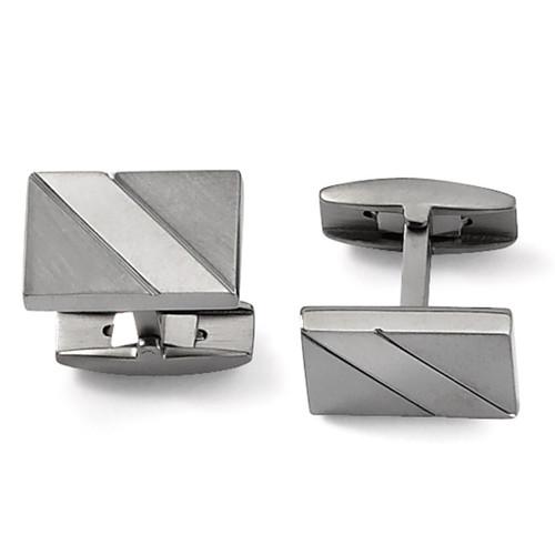 Cufflinks - Titanium TBC100