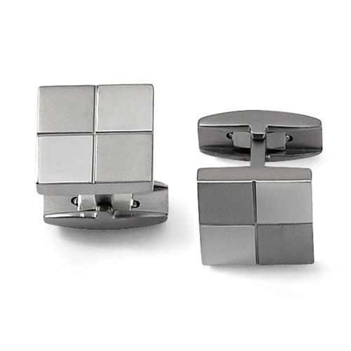 Cufflinks - Titanium TBC101