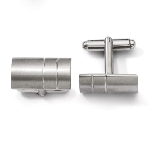 Cufflinks - Titanium TBC105