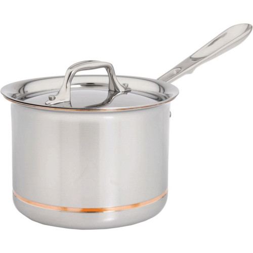 All Clad Copper Core 2 Qt. Sauce Pan with Lid