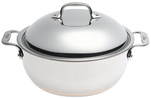 All Clad Copper Core 5.5 Qt. Dutch Oven with Lid