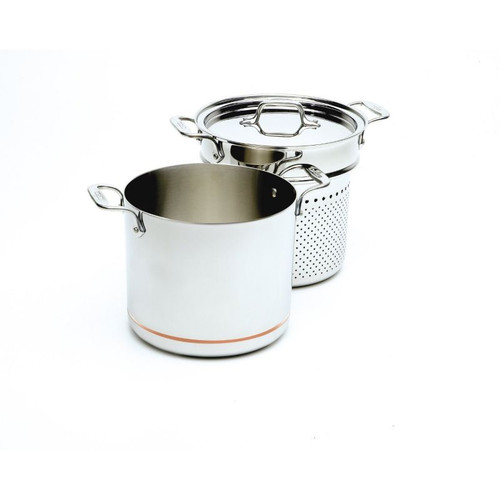 All Clad Copper Core 7 Qt. Pasta Pentolawith Lid & Insert