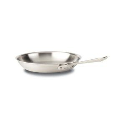 All Clad d5 Brushed Stainless 12 Inch Fry Pan