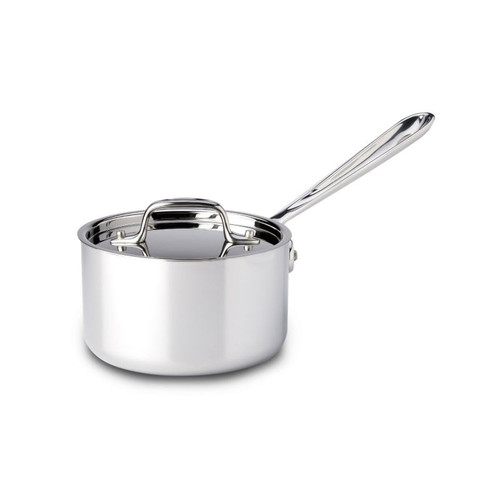 All Clad Stainless 1.5 Qt. Sauce Pan with Lid