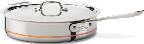 All Clad Copper-Core 5-Ply 5 Qt. Saute Pan with Lid