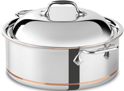 All Clad Copper-Core 5-Ply 6 Qt. Round Roaster