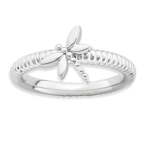 Dragonfly Ring - Sterling Silver QSK731