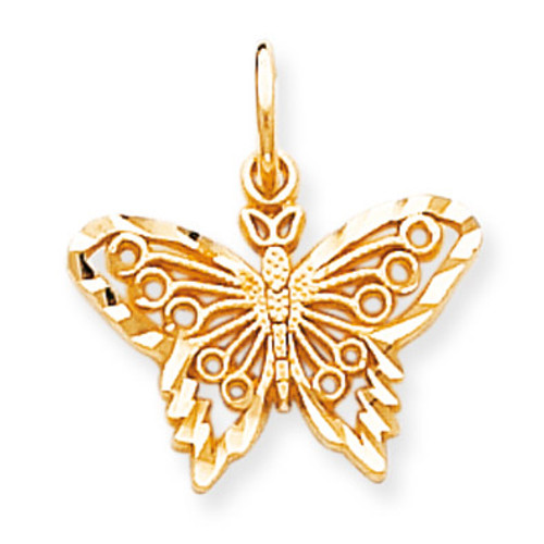BUTTERFLY CHARM 10k Gold 10C641