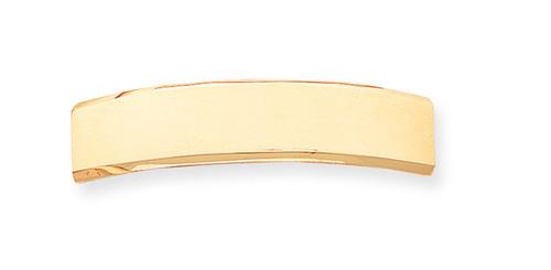 48 x 10 x 1.5mm ID Plate 14k Gold ID3