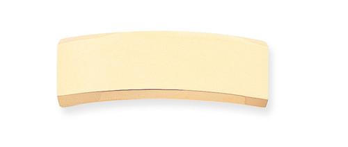 48 x 15.5 x 2mm ID Plate 14k Gold ID6
