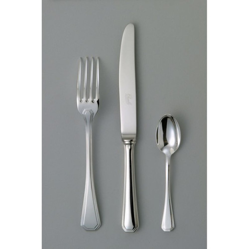 Chambly Acadie Fish Cold Meat Serving Fork - Silver Plated
