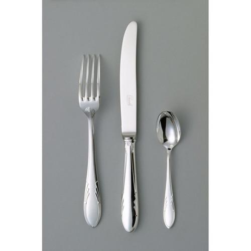 Chambly Art Deco Moka Spoon - Silver Plated