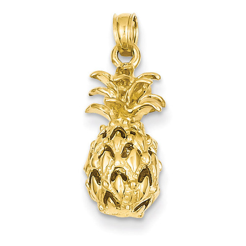 Pineapple Pendant 14k Gold K3146