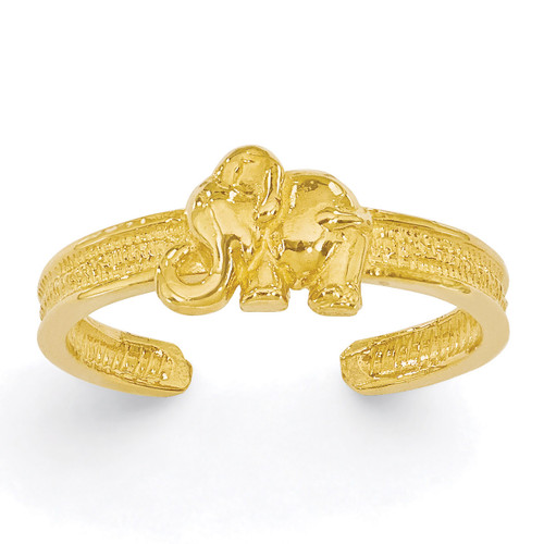 Elephant Toe Ring 14k Gold K3836