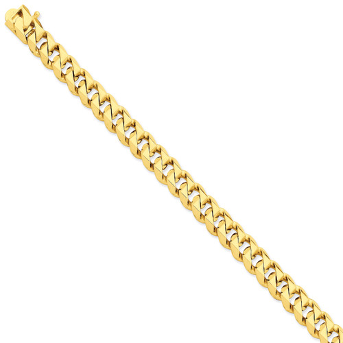 9.2mm Hand-Polished Traditional Link Chain 24 Inch 14k Gold LK119-24