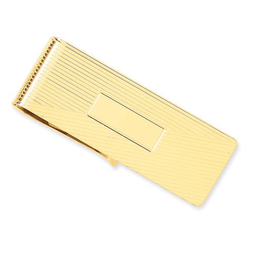 Money Clip 14k Gold MC51