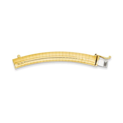6mm Lightweight Omega Extender for Necklace 14k Gold ODLX6