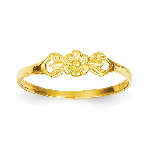 Flower Baby Ring 14k Gold R532